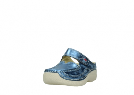 wolky clogs 06227 roll slipper 10870 blau nubukleder_21