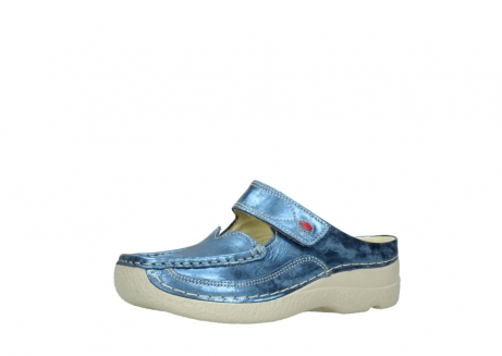 wolky clogs 06227 roll slipper 10870 blau nubukleder_23