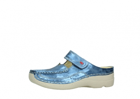 wolky clogs 06227 roll slipper 10870 blau nubukleder_24