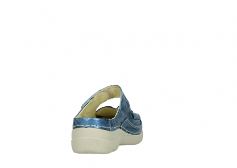 wolky clogs 06227 roll slipper 10870 blau nubukleder_8
