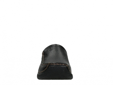 wolky slippers 06250 seamy slide 70000 black printed leather_7