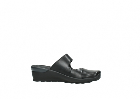 wolky clogs 2576 up 200 schwarz leder_14