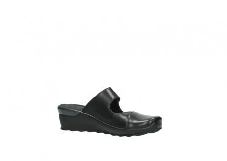 wolky clogs 2576 up 200 schwarz leder_15