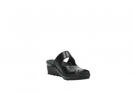 wolky clogs 2576 up 200 schwarz leder_17