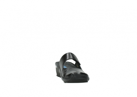 wolky clogs 2576 up 200 schwarz leder_18