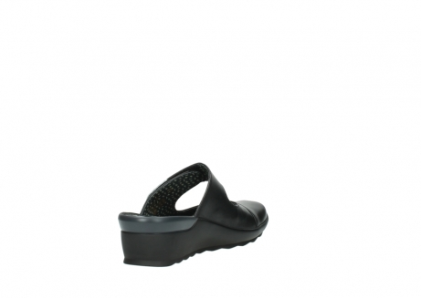 wolky clogs 2576 up 200 schwarz leder_9