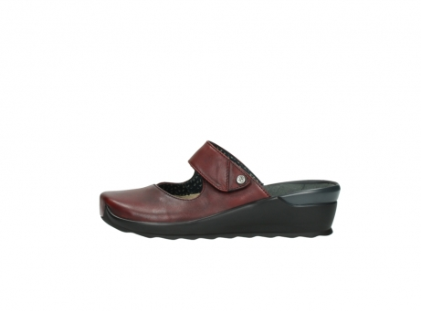 wolky clogs 2576 up 250 rot leder_1