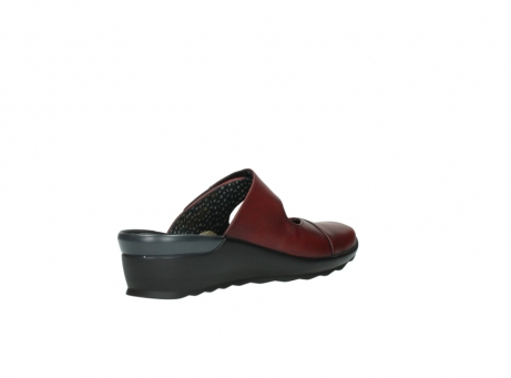 wolky clogs 2576 up 250 rot leder_10