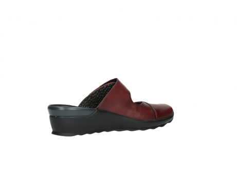 wolky clogs 2576 up 250 rot leder_11