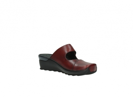 wolky clogs 2576 up 250 rot leder_16
