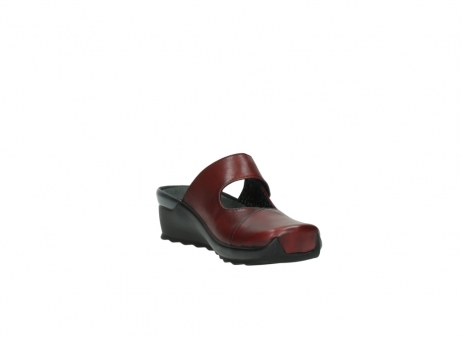 wolky clogs 2576 up 250 rot leder_17
