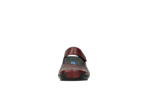 wolky clogs 2576 up 250 rot leder_19