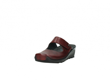wolky clogs 2576 up 250 rot leder_21