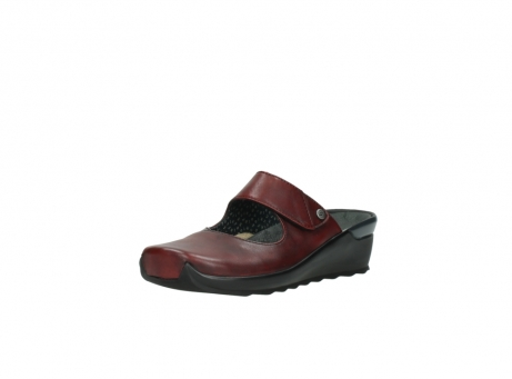 wolky clogs 2576 up 250 rot leder_22