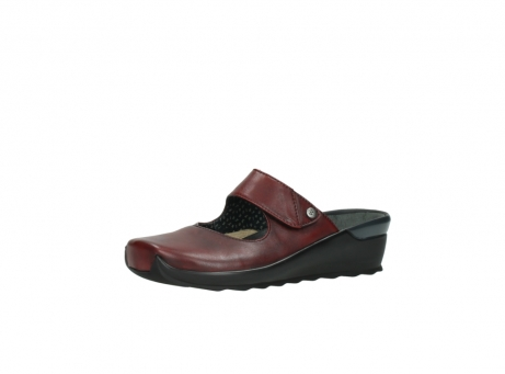wolky clogs 2576 up 250 rot leder_23
