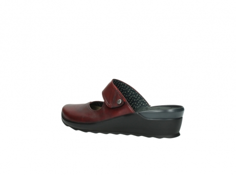 wolky clogs 2576 up 250 rot leder_3