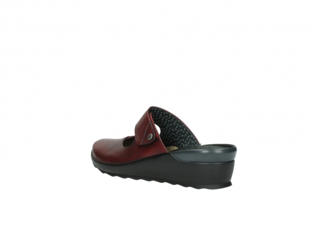 wolky clogs 2576 up 250 rot leder_4