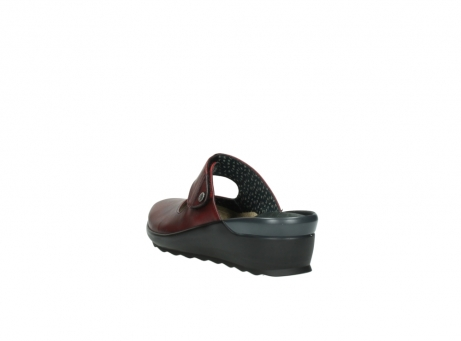 wolky clogs 2576 up 250 rot leder_5