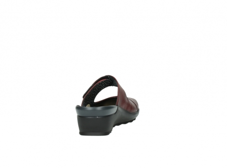 wolky clogs 2576 up 250 rot leder_8