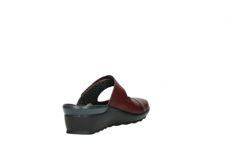 wolky clogs 2576 up 250 rot leder_9