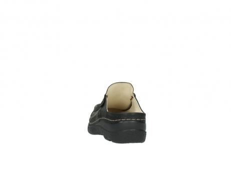 wolky klompen 6202 roll slide 130 bruin metallic gemeleerd leer_6