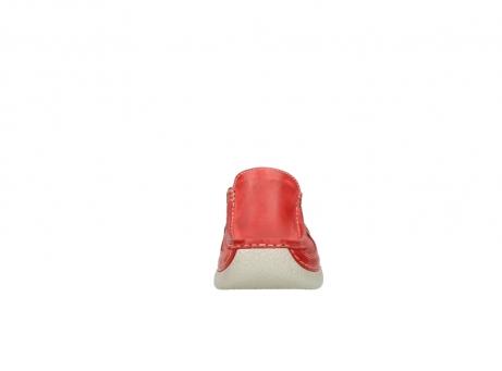 wolky klompen 6202 roll slide 357 rood leer_19