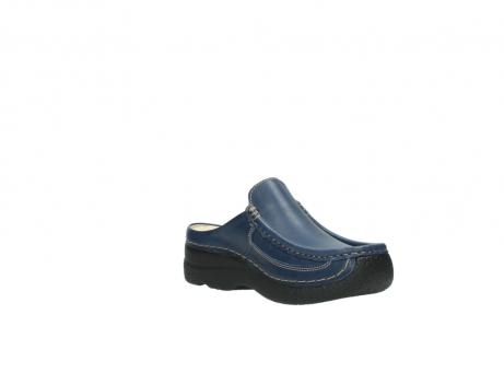 wolky clogs 6202 roll slide 380 dunkelblau leder_16