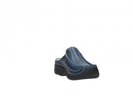 wolky clogs 6202 roll slide 380 dunkelblau leder_17