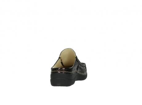 wolky clogs 6202 roll slide 930 braun craquele leder_8