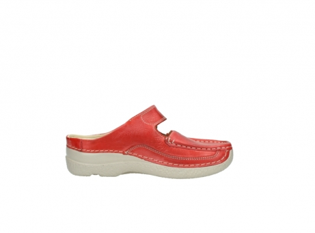 wolky klompen 6227 roll slipper 357 rood zomer leer_13