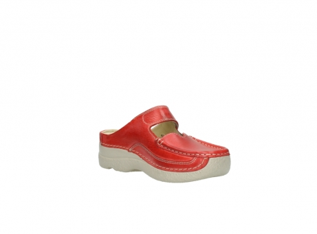 wolky klompen 6227 roll slipper 357 rood zomer leer_16