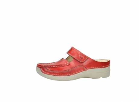wolky klompen 6227 roll slipper 357 rood zomer leer_24