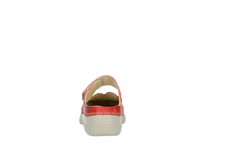 wolky klompen 6227 roll slipper 357 rood zomer leer_7