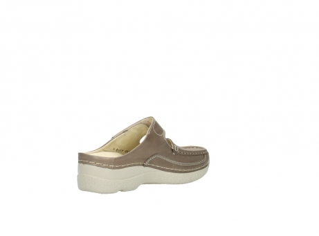 wolky clogs 6227 roll slipper 815 taupe leder_10