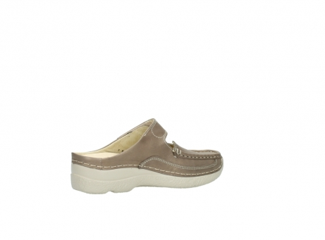 wolky clogs 6227 roll slipper 815 taupe leder_11