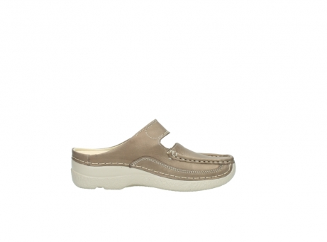 wolky klompen 6227 roll slipper 815 taupe leer_13