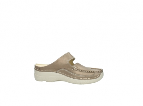 wolky klompen 6227 roll slipper 815 taupe leer_14
