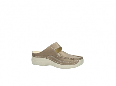 wolky klompen 6227 roll slipper 815 taupe leer_15