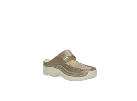 wolky clogs 6227 roll slipper 815 taupe leder_16