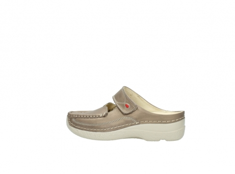 wolky klompen 6227 roll slipper 815 taupe leer_2