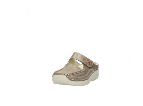 wolky clogs 6227 roll slipper 815 taupe leder_21