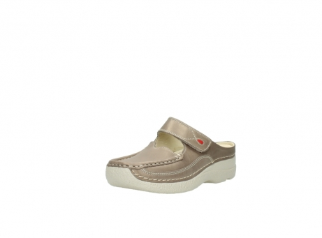 wolky clogs 6227 roll slipper 815 taupe leder_22