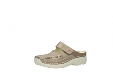 wolky clogs 6227 roll slipper 815 taupe leder_23