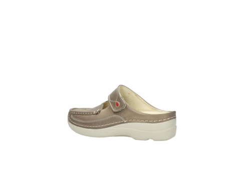 wolky clogs 6227 roll slipper 815 taupe leder_3