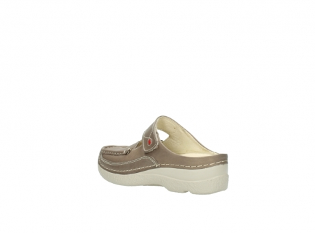 wolky klompen 6227 roll slipper 815 taupe leer_4