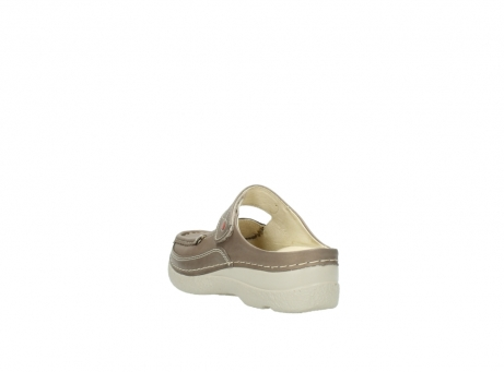 wolky clogs 6227 roll slipper 815 taupe leder_5