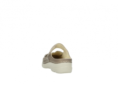 wolky klompen 6227 roll slipper 815 taupe leer_6