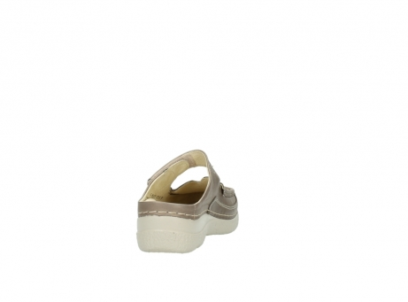 wolky clogs 6227 roll slipper 815 taupe leder_8