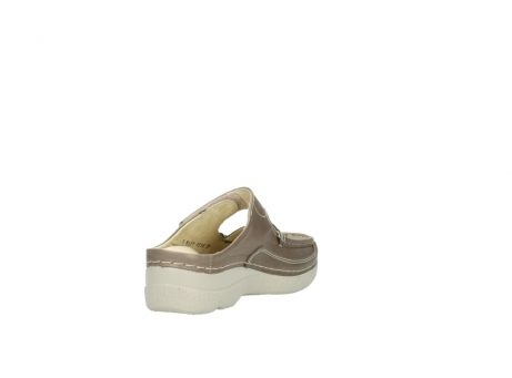wolky klompen 6227 roll slipper 815 taupe leer_9