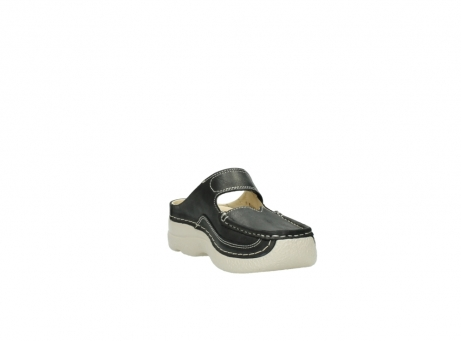 wolky clogs 6227 roll slipper 821 anthrazit leder_17